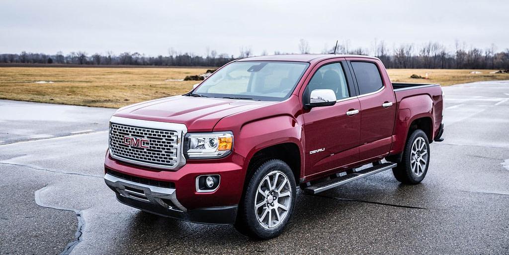 5 Best used Pick-up Trucks - GMC Canyon